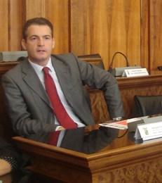 Il Presidente del Consiglio Provinciale Michele Mangiafico.