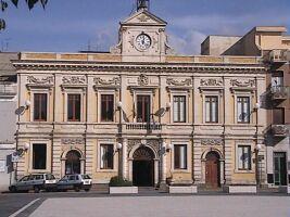 La sede del Municipio di Carlentini.